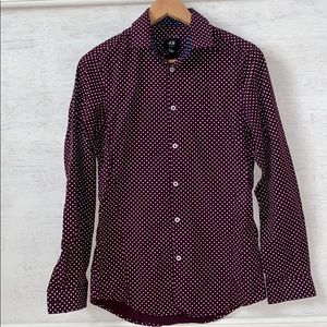 H&M Dots Dress Shirt